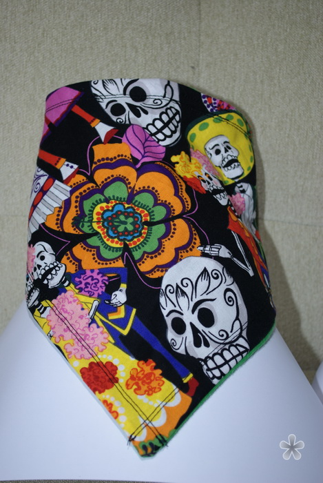 Comment in this Post for Day of the Dead Bandana