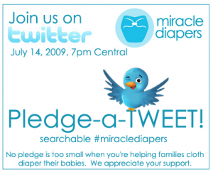 Support Miracle Diapers- Join Their Pledge Party!