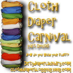 Cloth Diaper Carnival Part Deux! Aug 25!