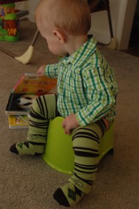 The Road to Potty Learning and Benefits of ECing