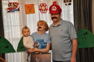 The Mario Loving Family