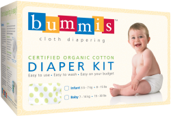 Bummis Organic Cotton Diaper Kit Giveaway*closed*