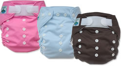 one size snap and aplix pocket diaper group 3(2)
