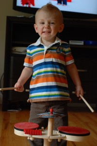 Wordless Wednesday: Rock Star in the making!