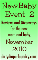 Announcing the New Baby Event, part 2!