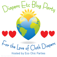 Longevity of Cloth Diapers and Diapers Etc Giveaway (2/28)