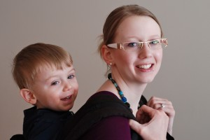 Wordless Wednesday: Green Screen Magic and Toddler-Wearing