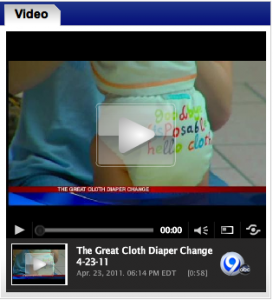 The Great Cloth Diaper Change- Syracuse, NY 2011