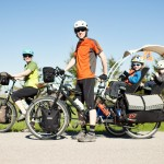 Flats Challenge on the Road- on a BIKE.  Guest Post from The Pedal Powered Family