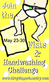I'm Bringing Flats Back! Day 1 of the Flats and Handwashing Challenge