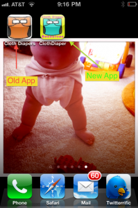 Cloth Diaper Resources App now Available for iPhone and Android