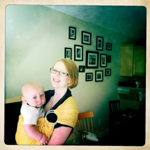 Wordless Wednesday: Stylish Babywearing