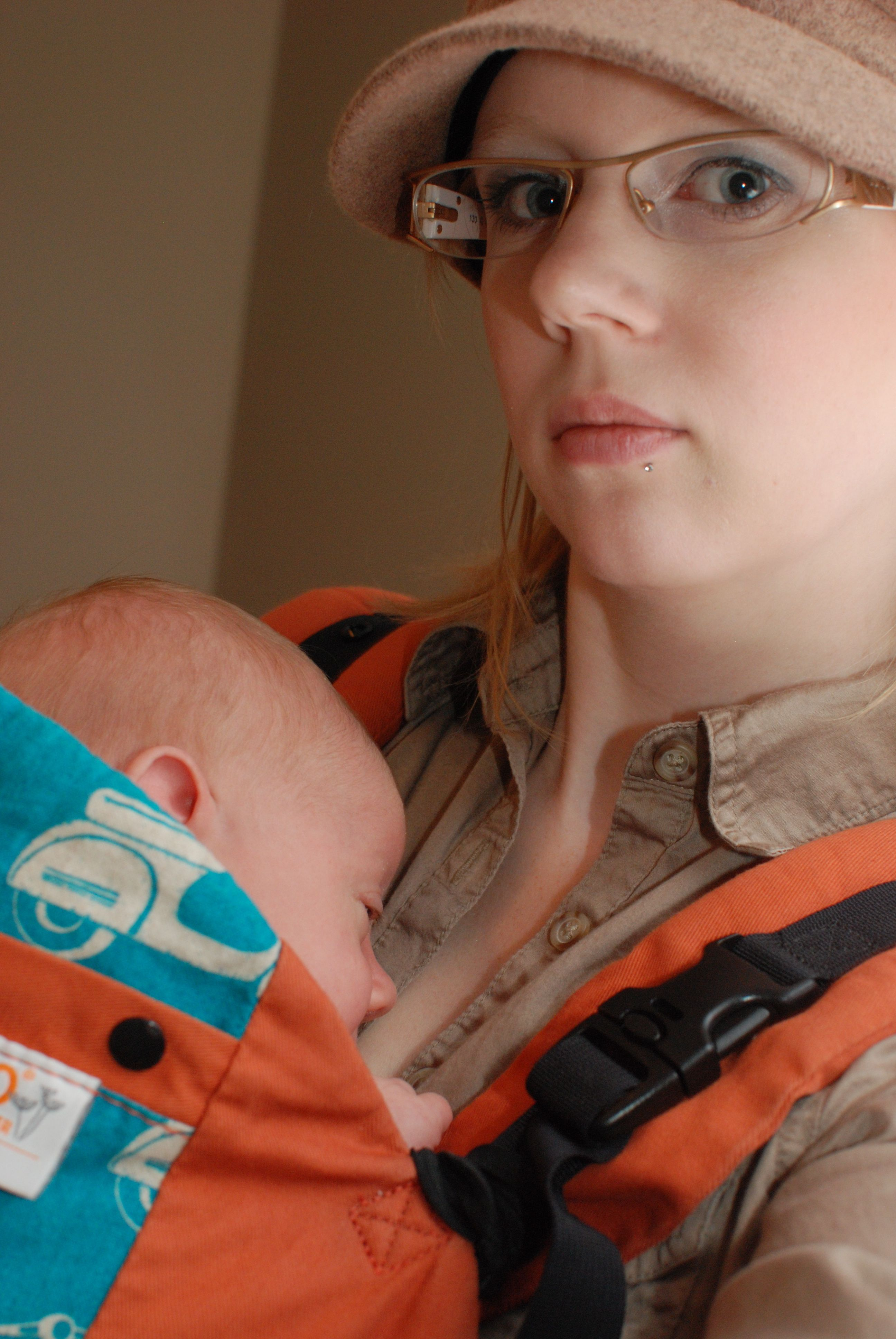 Babywearing A Newborn Ergobaby Compared To Beco Butterfly Ii