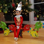 Elf on The Shelf Ideas- Week 1