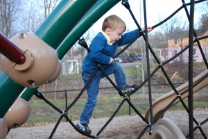 {Mostly} Wordless Wednesday: Last Day at the Park