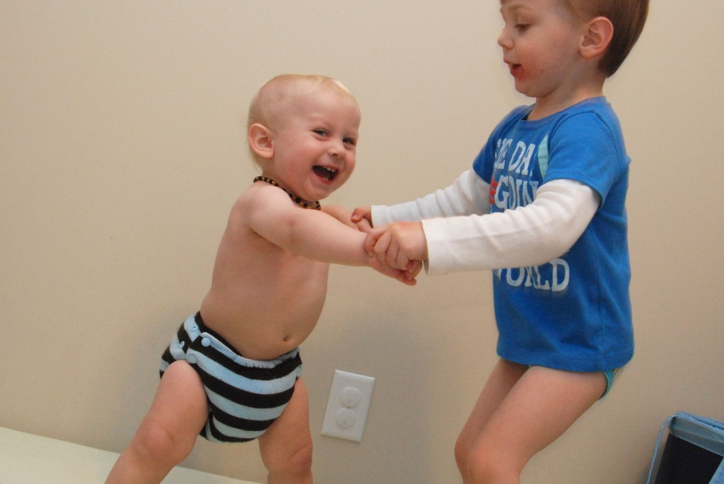 Wordless Wednesday: 2 Little Monkeys Jumping on the Bed