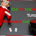 "Make Your ""Elf on The Shelf"" Bendable and Grippy-Tutorial"