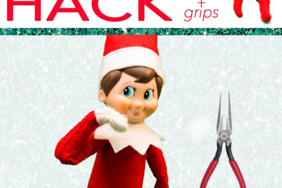 Make Your Elf On The Shelf Bendable And Grippy Tutorial Dirty