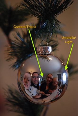 Create a Unique Holiday Card: Family Portrait in Ornament ...