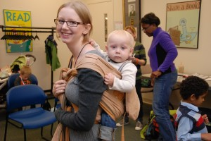 The Loneliest Baby Carrier