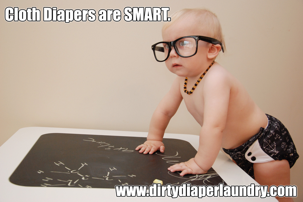 Cloth Diapers are SMART
