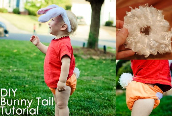 DIY Bunny Tail Tutorial