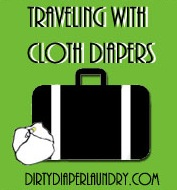 Traveling with Cloth Diapers- Can you do it?  SHOULD you do it?  A Pro Answers.