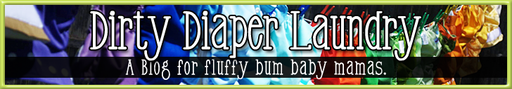 "Celebrating 3 Years of Dirty Diaper Laundry and a ""Cloth Rocks"" Shirt Giveaway"