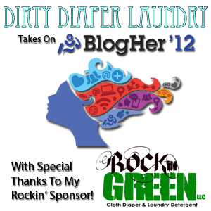 Announcing my Rockin' BlogHer 2012 Sponsor- Rockin' Green!