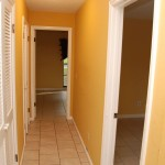 bedrooms/closets hallway