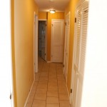 rooms/closets hallway