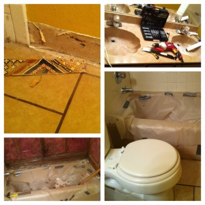 """Don't Touch That Saw!"" and other tales from bathroom remodel HELL"