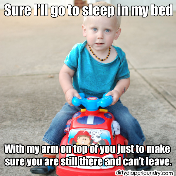 Overly Attached Toddler