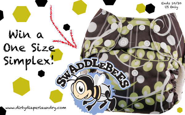 Win a Swaddlebees One Size Simplex from Dirty Diaper Laundry