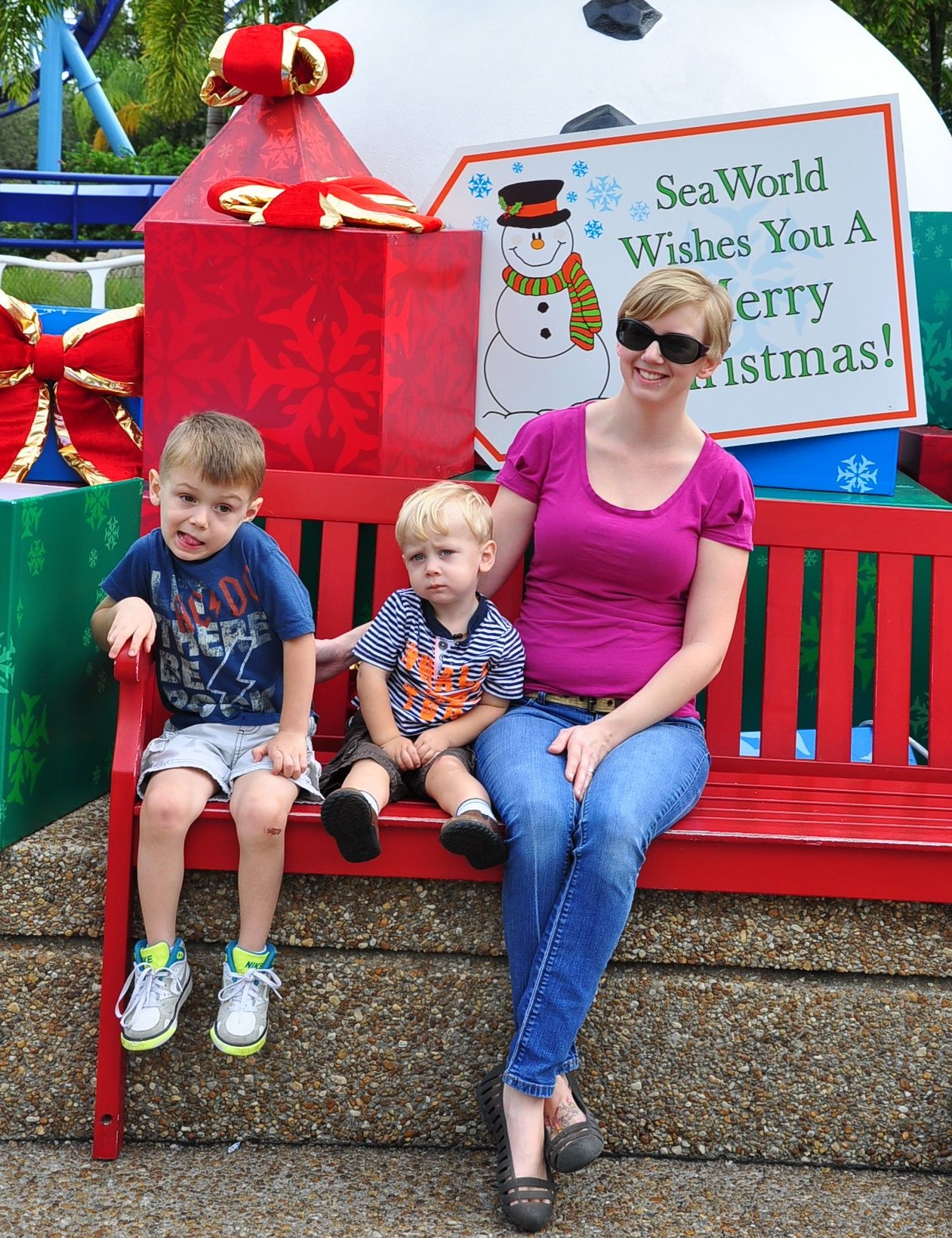 December 3 at SeaWorld.