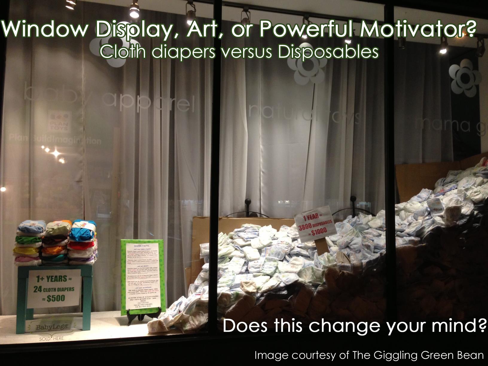 Cloth vs disposables