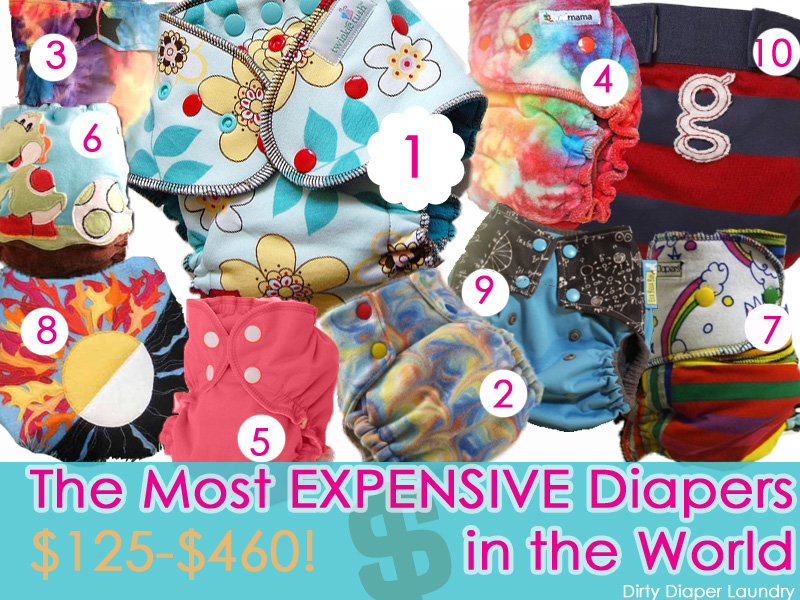 Cloth diapers that cost over $100
