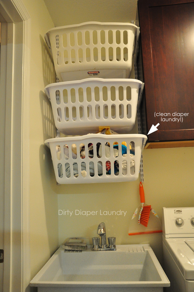 The Laundry Room Makeover In Progress Utilizing A Small
