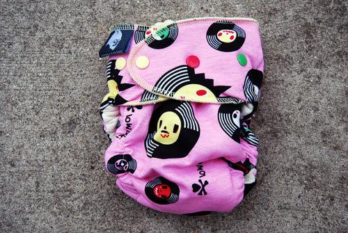 """Guerilla Fluff 'Pretty Girl Rock"""" featuring records."""