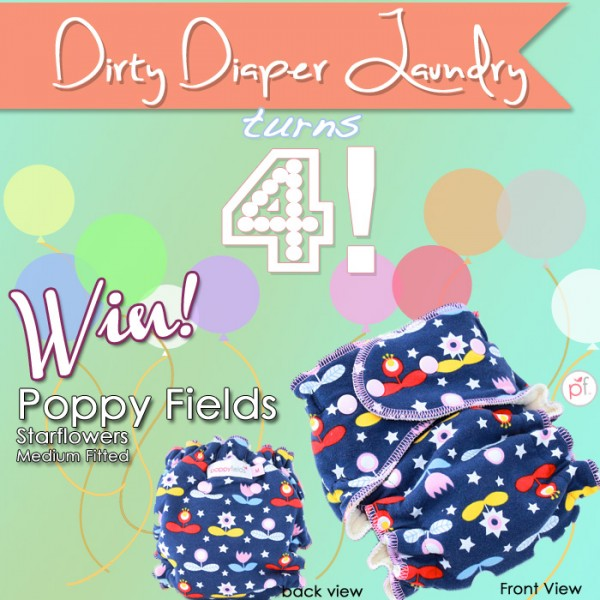 4 Years of DDL- Poppy Fields Starflowers Medium Fitted {Ends 4/23}