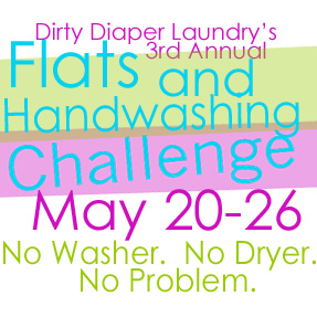 3rd Annual Flats and Handwashing Challenge: Day 6- Open Topic Linky