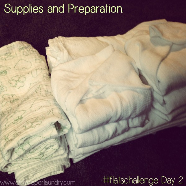 3rd Annual Flats and Handwashing Challenge- Day 2: Supplies and Preparation