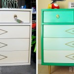 Thrift Store Find- DIY Ombré Dresser
