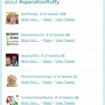 #operationfluffy Stats