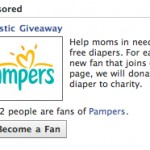 Pampers Disposable Diaper Donation Comparison to Cloth Diapers