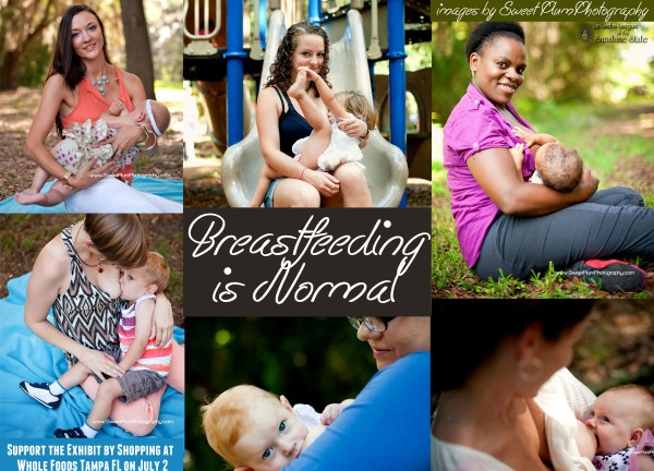 Locals: Support LLL of Tampa and the Breastfeeding is Normal Exhibit by Shopping at Whole Foods