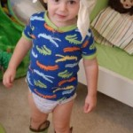 Wordless Wednesday: Diaper Head