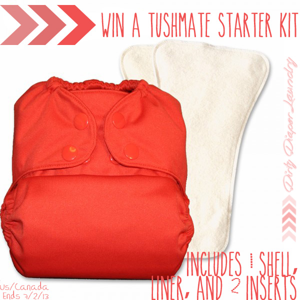 Try the NEW TushMate System!  Win a Starter Kit! {7/2]