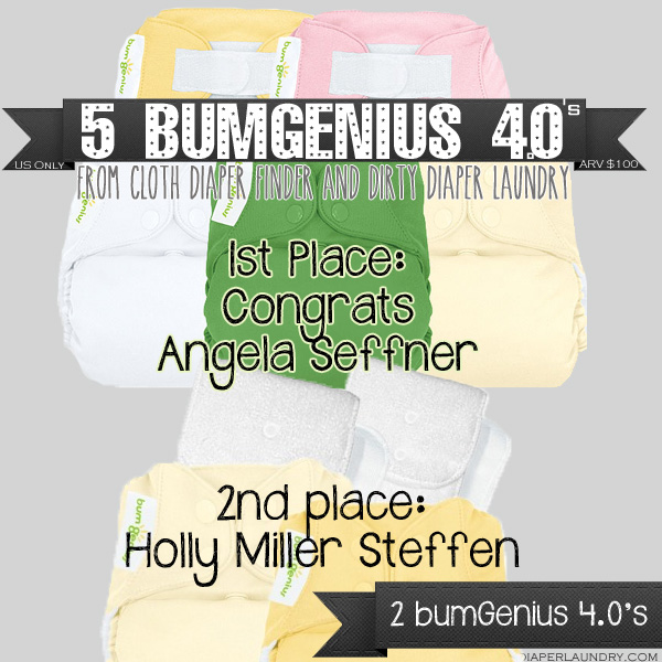 The Winner of the Referral Contest and 5 bumGenius 4.0's is….