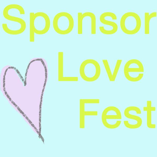 New Sponsor Love-Fest!